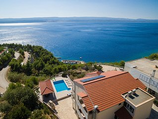 Sea view, Beach Apartment-00 with pool & Restaurant