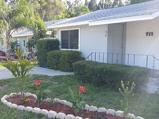 Dog Friendly! Private Fenced Yard.  Walk to Blue Jay's and downtown in minutes.