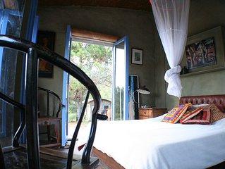 Casa ecológica en zona rural de La Barra