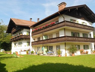 FeWo Setzberg - sehr ruhige, zentrale und sonnige Lage mit Bergblick