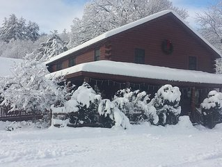 An Adirondack Lodge just 15 Minutes from Gore Mt ski area.