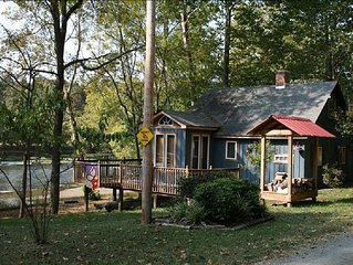 Waterfront Cabin On The New River - Near Virginia Tech & Radford University