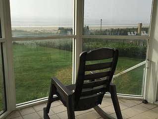 Oceanfront - Luxury 3BR Condo Sleeps 8 to 12 - End Unit - Own Entrance to Beach