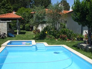Holiday Villa in Vila Nova de Cerveira - 4 Bedrooms, Sleeps 8