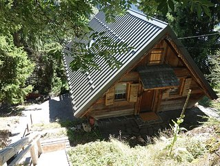 Chalet 6-8 pers. south with views, ideal for family with children