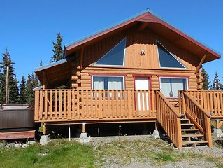 Beautiful Log Home Located 12 Miles From Denali National Park, Alaska