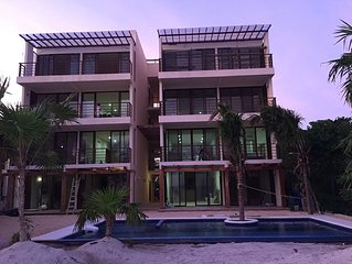 New 1500 sq. ft. 3 Bedroom /  3 Bathroom Condo in Akumal, Quintana Roo, Mexico