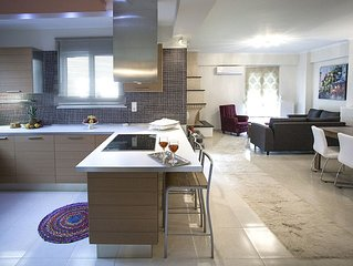 Elena & Pelagia Luxury, Brand Νew Apartment In Rethymno, Sea & Country side View