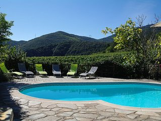 Gite with Private Pool and Sensational Mountain Views