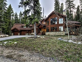 5 Bedroom Estate Home -Sleeps 17 - Tamarack Resort!