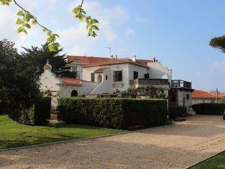 Grande villa familiale avec piscine dans parc arboré en plein coeur de BIARRITZ