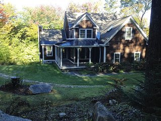 Beautiful 5 BR/3.5 BA Home 10 Mins from Stratton