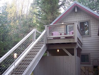 Quiet, Cozy Garage Apartment near Mount Rainier and Crystal Mountain Resort