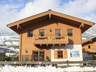 Beautiful Alpine Chalet in great location - large skiareas and glacier nearby