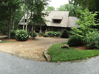 North Carolina Mountain Cabin In Private Gated Neighborhood