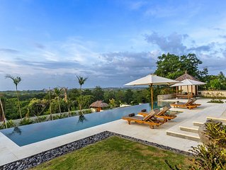 Bayu 6BR Luxury+Car+Driver, Ocean View-Uluwatu