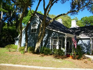 Enjoy a well appointed home in the center of the Lowcountry!