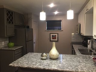 Chic Cozy Condo Downtown/Med Ctr - Unit #1 (Downstairs)