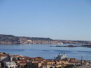 Palau Trilocale con splendida vista mare e sulle isole della Maddalena
