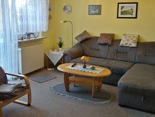 Ruhige gut eingerichtete Ferienwohnung in der Nähe vom Nordseeheilbad Büsum