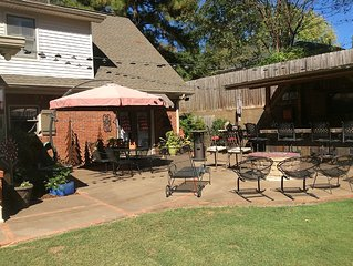 Great Family Home Near Stadium Awesome Back Patio/Yard