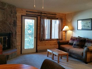 Resort Style Mountain Studio W/ Fireplace, Full K
