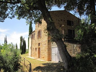 Villa Mulinello, Quiet, Secluded, Panorama Over Montepulciano Valley.