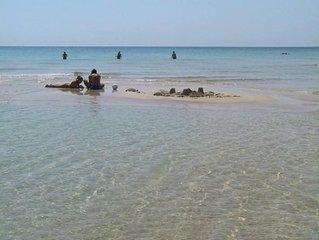 Pescoluse: vista mare  'le Maldive del Salento'