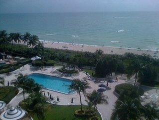 Family vacation in Miami Beach Millionaire's row