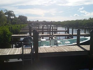 Peaceful Pine Island Captains Harbor Condo Located in South West Florida