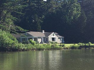Waterfront Serenity w/Pool, Kayaks, Dock mins. to Best Eastern Shore Attractions