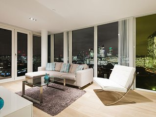 Air conditioned 5* Zone 1 City/Shoreditch with great city views