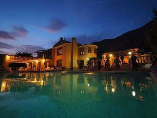 Tranquil 8 bedroom villa with beautiful Mountain and Valley views
