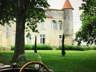 Gite-Chateau XVIeme entre Perigord, Cognac et Bordeaux