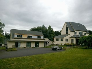 Seven room house on 21 acres of land, Handy to the City in a rural atmosphere