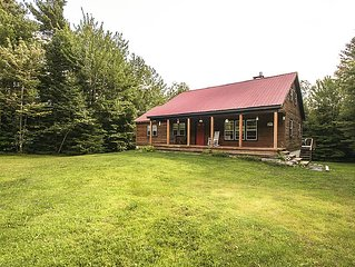 Amazing Mountain Getaway! Fire Pit, Relaxing, Hiking, Grout Pond, Stratton/MtSno