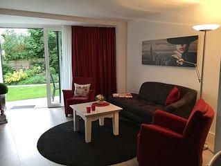 Wunderschöne Suite mit großer Terrasse im Kurgebiet Bad Salzuflens