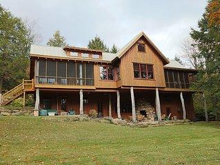 Algonac - Luxury Timber Lodge in Eagles Mere PA