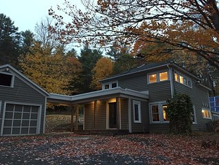 Bright remodeled home with lovely views; Norwich VT; close to Dartmouth College