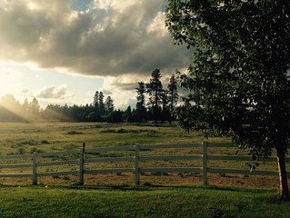Home Away From Home With Beautiful acreage to watch the seasons change