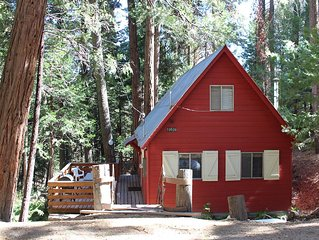 Affordable, Cozy and rustic Cabin in the Sequoia Nat'l Forest.