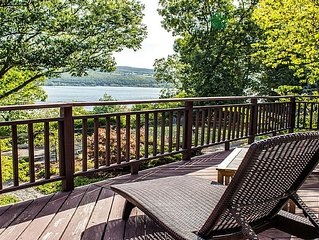 Modern Lakeside Fingerlakes Getaway - TV cable and DVD recently added !!!
