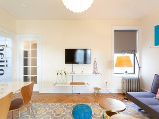 A modern and comfortable 4 bedroom sun filled apartment in Brooklyn