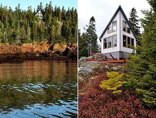 Cliff-perched: stunning ocean views, private hiking trails, complete seclusion