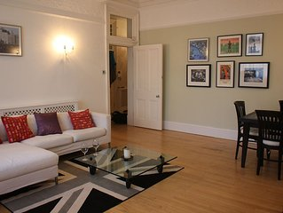 Spacious and elegant Victorian 2 bed flat