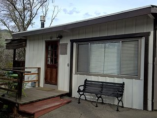 River Front Studio Cabin, Best River Spot In Three Rivers!