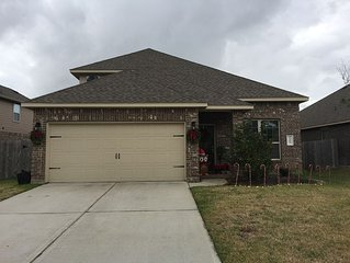 Beautiful 4-3 bedroom/bathroom home just north of Houston