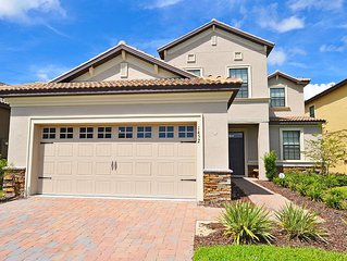 Beautiful 5 Bed Gated Pool Home At Champions Gate Resort
