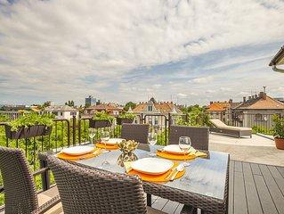 Enjoy your private terrace near City Park!