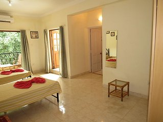 37) Studio Apartment Calangute Sleeps 2/4